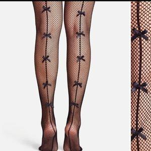😍Pinup bow designed fishnet stocking/legging 🎀